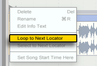 loop to next locator