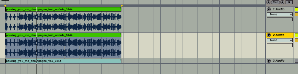 how to transfer clips to arrangement ij ableton live