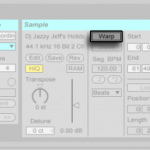 How to crop/split recordings in Ableton Live.