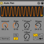 Tremolo device in Ableton Live