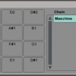 Using Push's drum step sequencer and pads with the Maschine VST